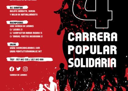 IV Carrera Popular Solidaria (Cambio de Recorrido)